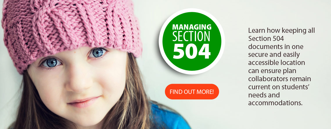 Section 504 Data Management