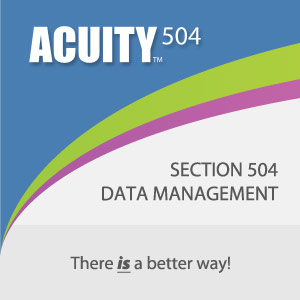 There IS a better way to manage Section 504 data